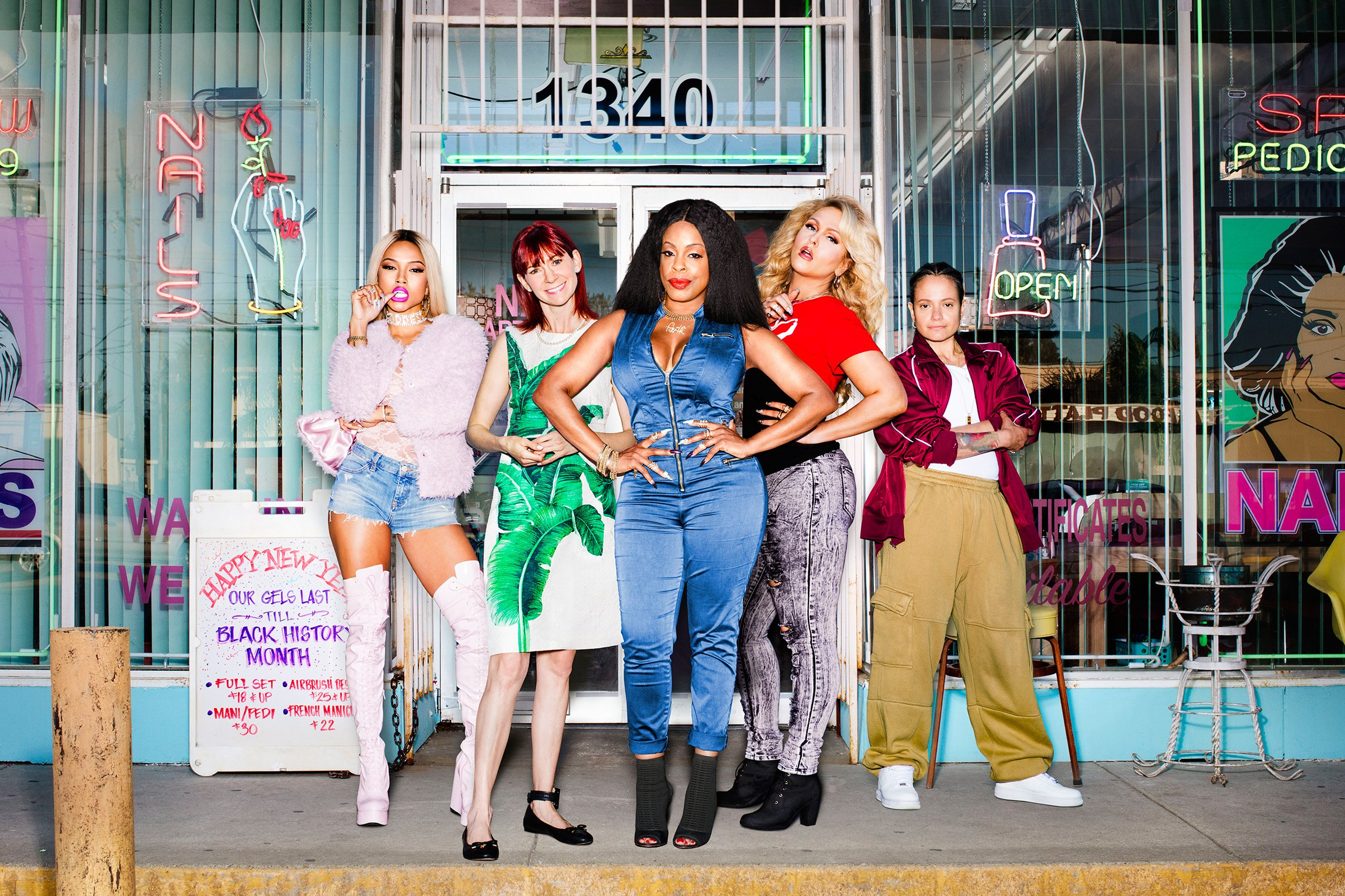 'Claws' Promotional Photoshoot