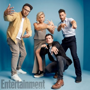 'Future Man Cast' ~ EW SDCC Portrait