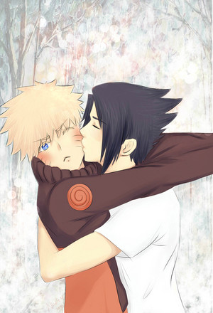 Narusasu Cheek 키스