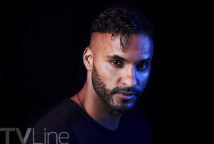Ricky Whittle at San Diego Comic Con 2017
