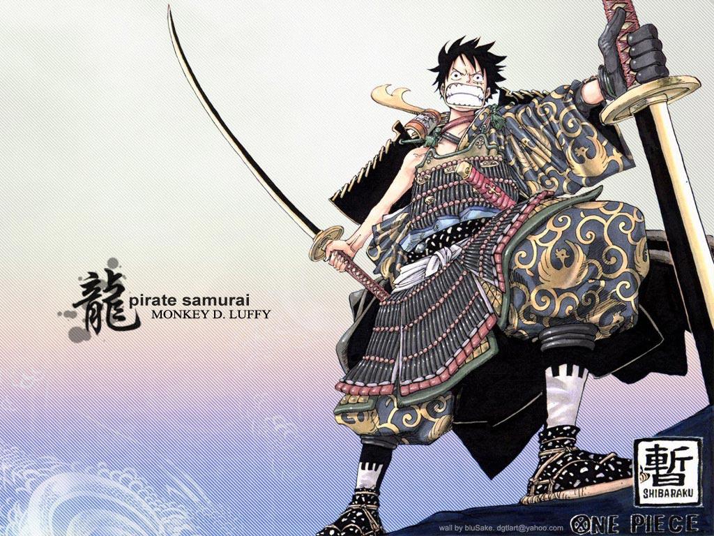 *Samurai Luffy*