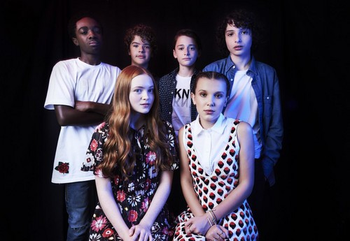 Stranger Things wallpaper called 'Stranger Things' Cast ~ TVLine SDCC Portrait (HQ)