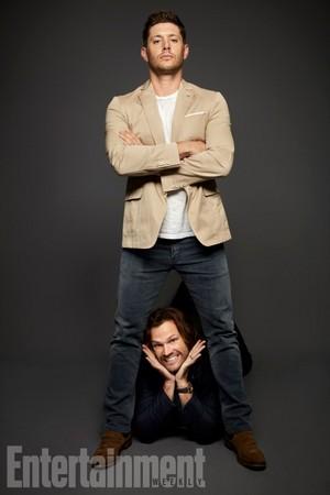 'Supernatural' Cast ~ EW SDCC Portrait