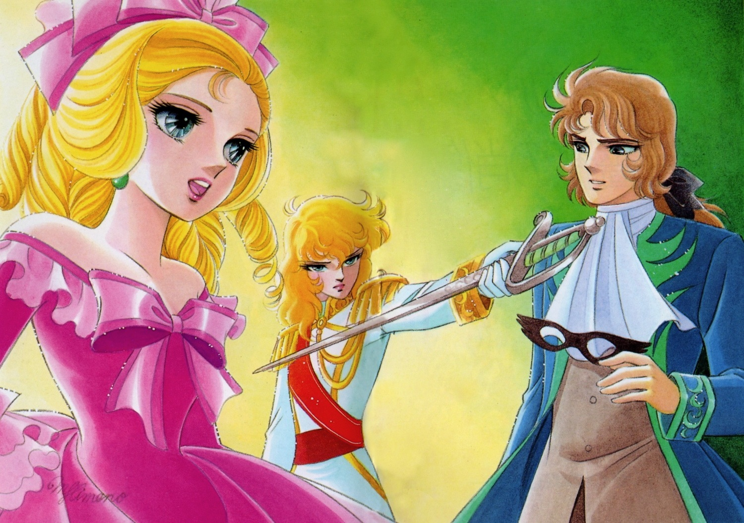 """""""The Rose of Versailles""""Photo Spam"""
