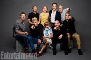 'Twin Peaks' Cast ~ EW SDCC Portrait