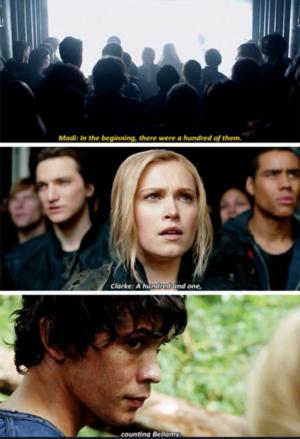 Clarke: '101, counting Bellamy'