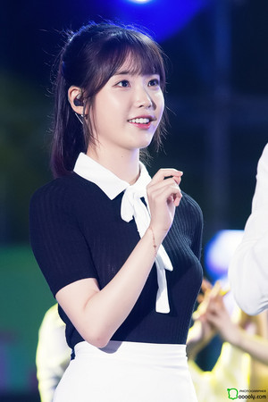 170728 IU(アイユー) at Boryeong Mud Festival