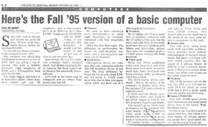 1995 artikulo Pertaining To The Basic Computer