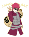 2 much swag omg - gaara-of-suna fan art