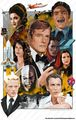 Sir Roger Moore As 007 - sir-roger-moore fan art