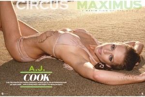A.J. from MAXIM Mag. July 2014