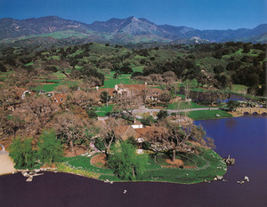 Aerial View Of Neverland Ranch