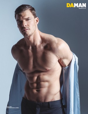 Alan Ritchson for Da Man Magazine
