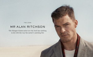 Alan Ritchson for Mr. Porter