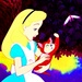 Alice and Dinah - alice-in-wonderland icon