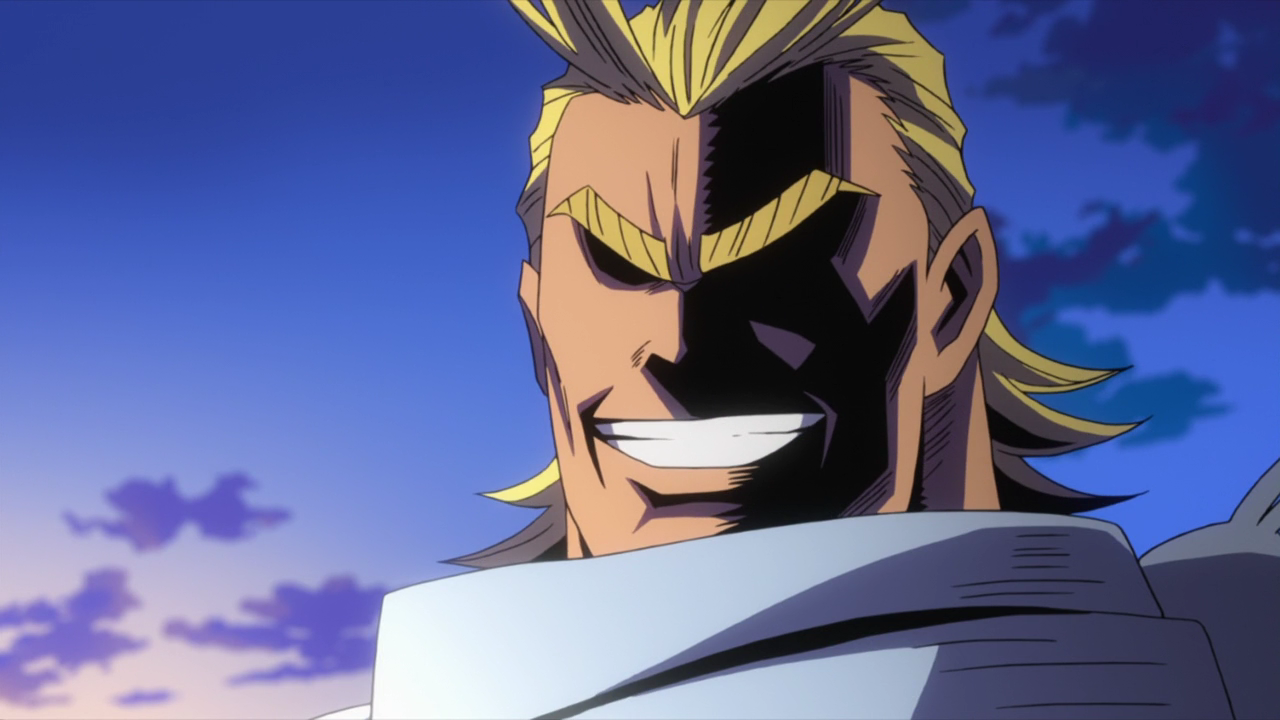 All Might muscle form