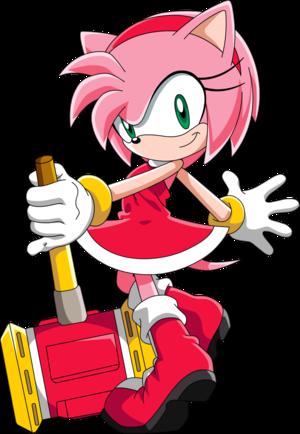 Amy Rose Sonic X