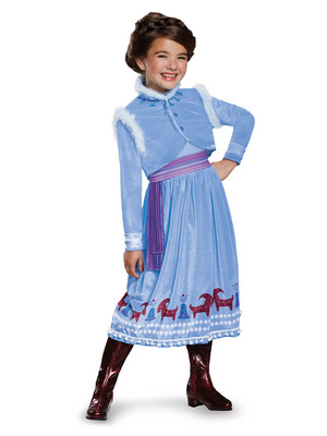 Anna Olaf's Frozen Adventure Halloween Costume