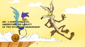 Annoying কমলা with Coyote and Road Runner