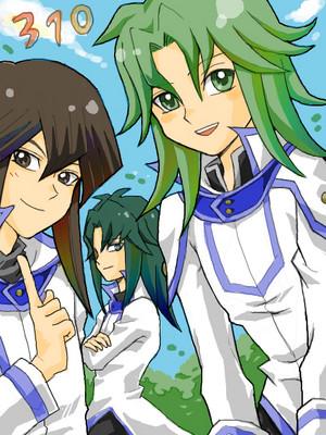 Atticus, Zane and Yusuke
