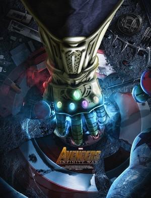 Avengers Infinity War - Teaser Poster