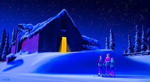 Barbie: A Perfect Christmas Concept Art