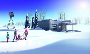 Barbie: A Perfect क्रिस्मस Concept Art