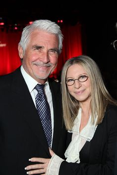Barbra And seconde Husband, James Brolin