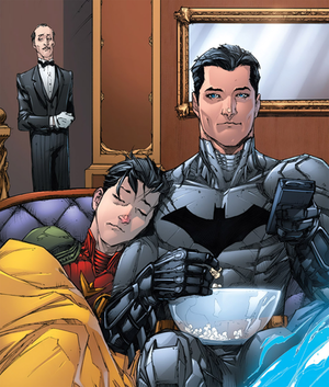 Batman and Jason Todd (Robin) ♥