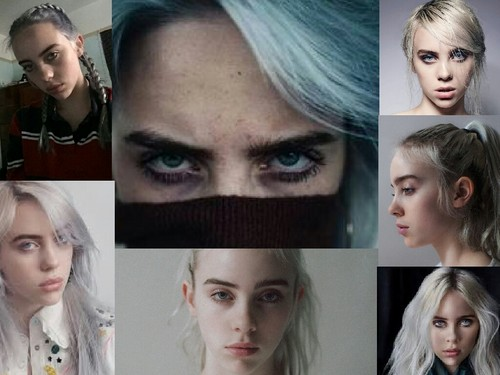 Billie Eilish fondo de pantalla titled Billie