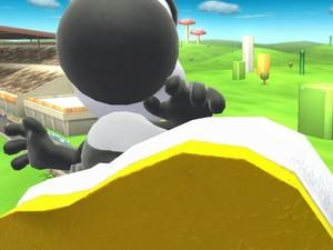 Black Yoshi's White Feet