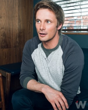 Bradley James at The avvolgere Photoshoot