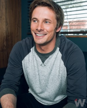 Bradley James at The Wrap Photoshoot