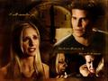 Buffy/Angel Wallpaper - IWRY - bangel fan art