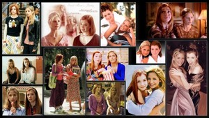 Buffy and Willow collage