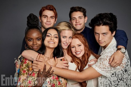 Riverdale (2017 TV series) fondo de pantalla entitled Cast Riverdale