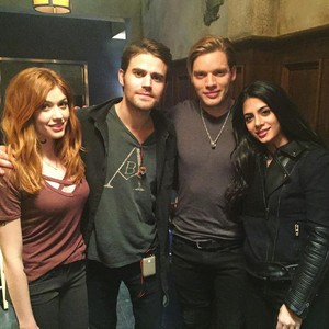 Cast and Paul
