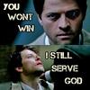 Supernatural litrato titled Castiel