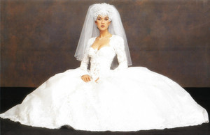 Celine Dion On Her Wedding Day 1994