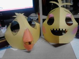 Chica Masks 2
