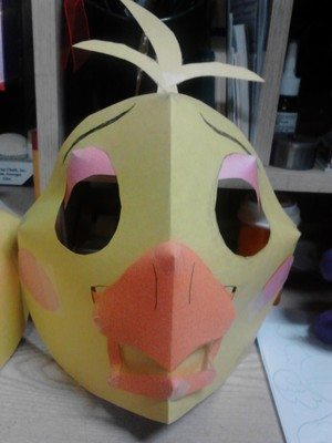 Chica Masks 4