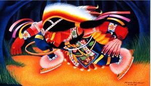 Chippewa Dancer bởi Patrick DesJarlait Sr. (1921–1972) Ojibwe