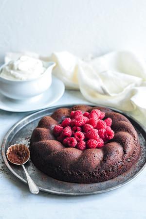 Sô cô la Bundt Cake