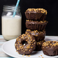 Chocolate Donuts - chocolate photo
