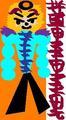 Chris Griffin as Hatore Ghanozuki the Angel of Death - family-guy fan art