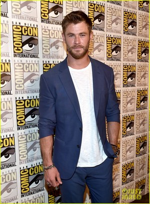 Chris at 2017 Comic Con