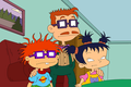 Chuckie and Kimi Finster in 2017 - rugrats photo