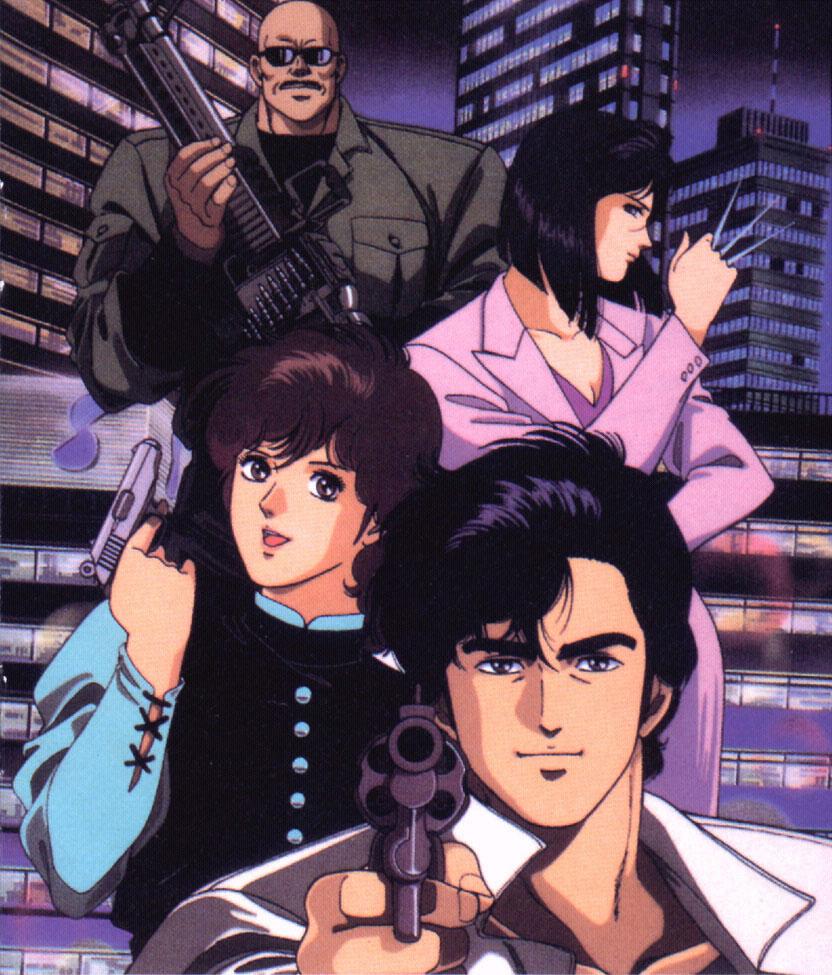 City Hunter Poster 007 City Hunter Animea Photo 40506637 Fanpop