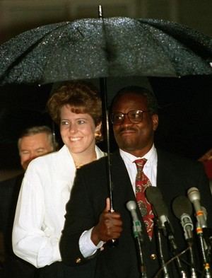 Clarence Thomas And segundo Wife, Virginia