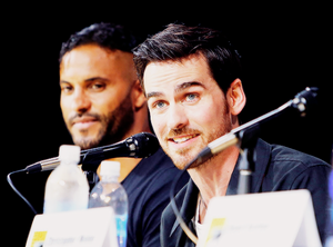 Colin O'Donoghue | EW's Rebelle New Warriors Panel | SDCC 2017